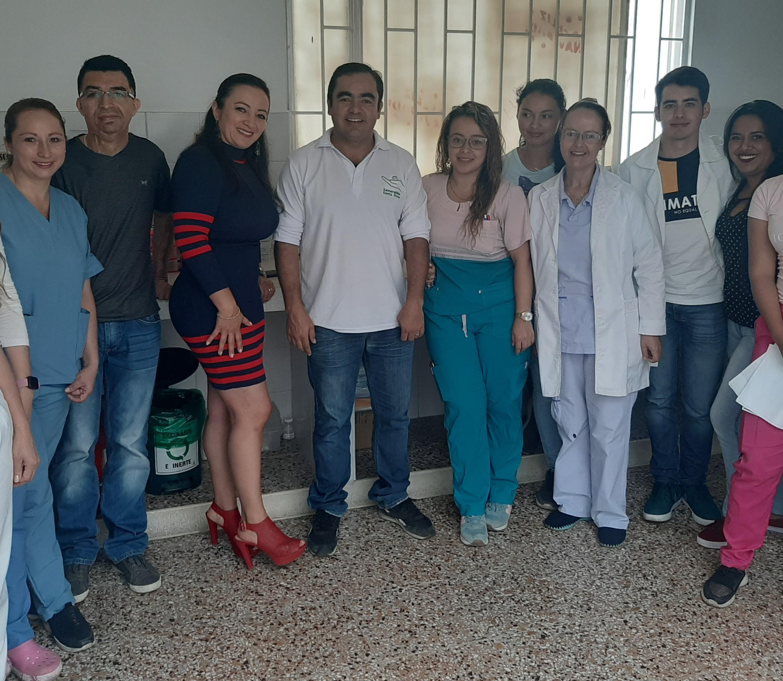 Donación de equipo analizador de hematología a Centro de Salud Rafael Salgado