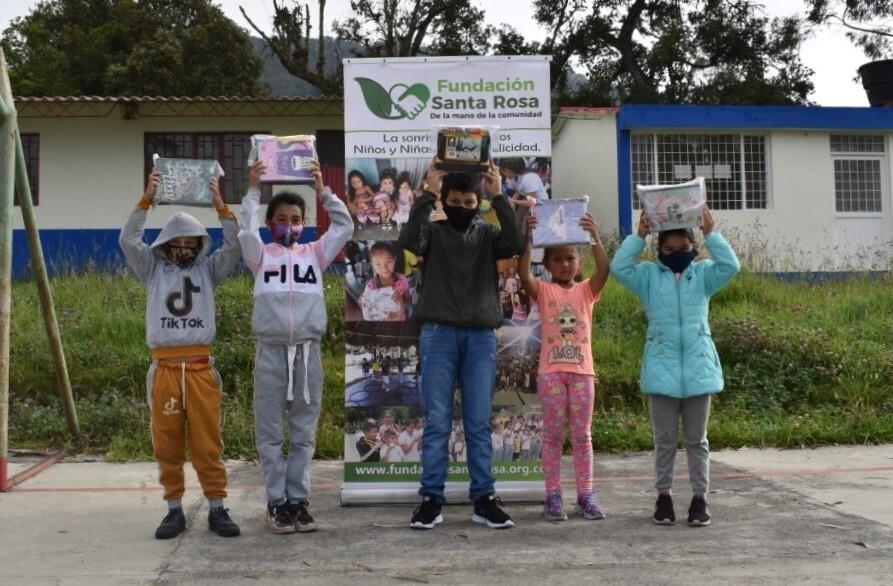 Niñez y agricultura, protagonistas en las iniciativas de Fundación Santa Rosa en marzo